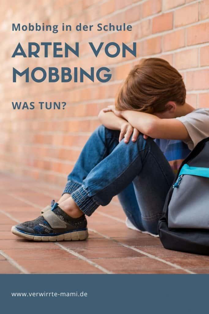 Arten von Mobbing